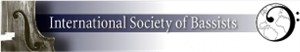 International Society of Bassists logo